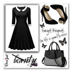 """""""Rosegal 52"""" by abecic ❤ liked on Polyvore featuring vintage"""