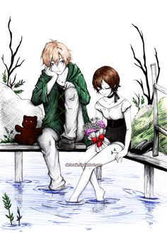 Tamaki and Haruhi: Time to relax by Detoreik.deviantart.com on @deviantART