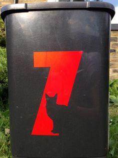 cat number seven Number 7, Lucky Number, Typo Logo, Typography, Seven Logo, 7 Seven, Lucky 7, Logo Design, Graphic Design