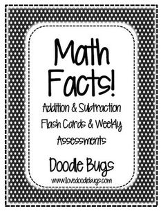 1000 images about math fact fluency on pinterest math facts assessment and addition facts. Black Bedroom Furniture Sets. Home Design Ideas