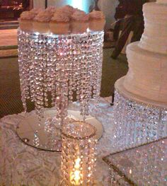 wedding cakes with bling New Ideas Diy Wedding Centerpieces Bling Pearls Cupcake Stand Wedding, Cake And Cupcake Stand, Wedding Cake Stands, Wedding Cupcakes, Diy Wedding, Dream Wedding, Wedding Day, Perfect Wedding, Diy Centerpieces