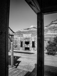 https://flic.kr/p/PGP7tm | Not so Wild West | Paria Movie Set, Pahreah Town, Utah, USA.  For almost forty years the movie set served as a backdrop for western movies, television series, and commercials.  #Architecture #Mono #Photography  www.richardsugden.com  © Richard Sugden 2016 All rights reserved.