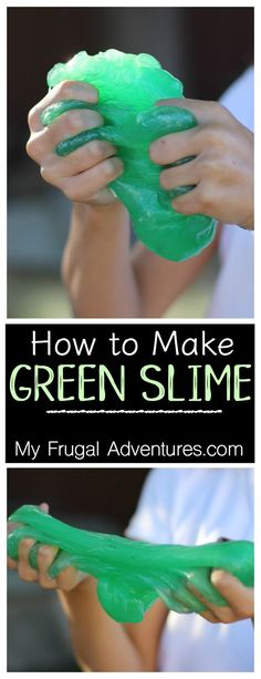 how to make clear glue slime with detergent