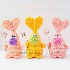 heart bunnies