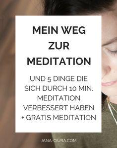 Wie ich mit der Meditation angefangen habe und was sie mir gebracht hat - mehr lesen