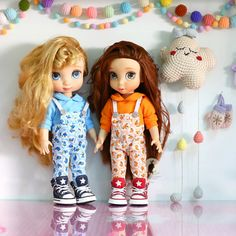 Orange color. Doll clothes for Disney animator dolls 16. Dolls , shoes and accessories not included. :)