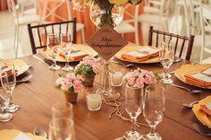 Casamento Dudi e Lariz  Mais plaquinhas personalizadas para mesa dos convidados