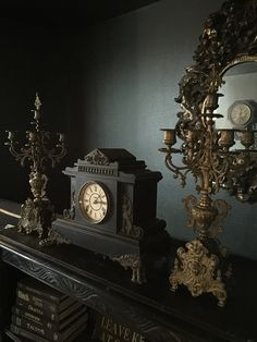 Gothic Rose Antiques 678776975070849499 What is Decoration? Decoration is the art of decorating the interior and exterior of the building … Gothic Living Rooms, Gothic Room, Victorian Bedroom, Victorian Decor, Gothic Home Decor, Gothic House, Victorian Homes, Dark Home Decor, Gothic Interior