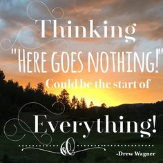 Do something brave today.  You never know what will happen! Check out Happeningsofahousewife.com