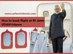 How to book flight under UDAN Scheme on cheap fare - Sarkari Schemes
