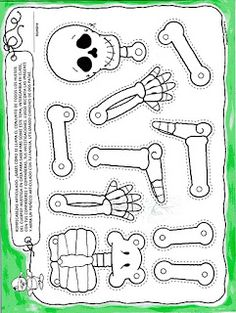 Crafts,Actvities and Worksheets for Preschool,Toddler and Kindergarten.Free printables and activity pages for free.Lots of worksheets and coloring pages. Theme Halloween, Halloween Crafts For Kids, Holidays Halloween, Fall Crafts, Holiday Crafts, Preschool Halloween, Halloween Birthday Invitations, Halloween Doll, October Crafts