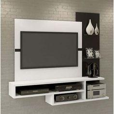 Panel Para Lcd Led Modular Rack Mueble Moderno Linea Nueva - $ 6.140,00 en Mercado Libre