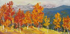Colorado Color by Nora Larimer in the FASO Daily Art Show