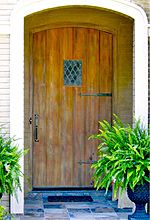 Old World Exterior Wood Front Entry Door DbyD-3012