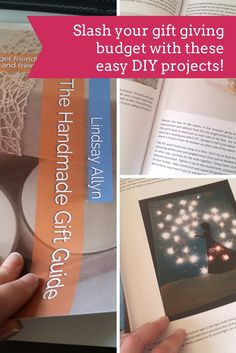 Slash your gift giving budget this year and make your gifts with these easy (and useful) projects!