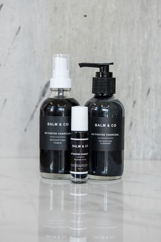 Our Activated Charcoal Cleanser is will help detox, balance and activate  healing of the skin. Our AC products are fantastic for acne-prone skin and  reducing oiliness without being harsh.  Activated Charcoal: balances pH + absorbs toxins  Aloe Vera Juice: reduces skin irritation + moisturizes skin, high in  vitamins c +e that is excellent for maintaining firmness and hydration  Eucalyptus: reduces blemishes, prevents breakouts and has antifungal,  analgesic, antiseptic properties  To be…