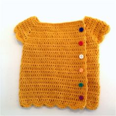 Crochet baby cardigan...if someone could make this, I would buy it......anyone?? Of course it would have to be in pinks, yellows and golds:)