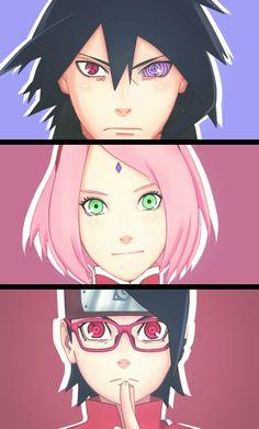 Uchiha Family<3