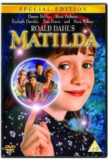 Matilda (IMDB) Grew up wanting to be either this little girl, or Miss Honey... My niece now wants to be Trunchbull..
