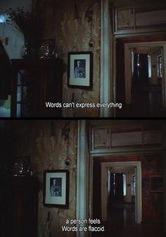 The Mirror, Andrei Tarkovsky, 1975.