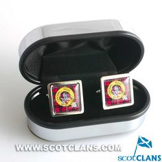 Little Clan Crest Cufflinks