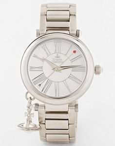 Vivienne Westwood Numerals With Orb Charm Watch