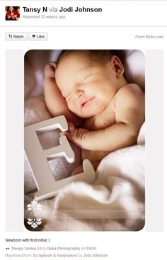 pintrest newborn baby pictures   Baby photography ideas – Baby pla(y)card - PhotoideaShop