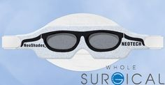 Neotech Products - N727 - Phototherapy Eye Shields - NeoShades with Headstrap Micro