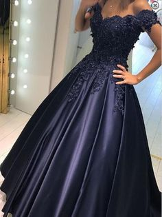 Royal Blue Prom Dresses,Long prom dress,Off-shoulder Prom Dresses,Affordable prom dress,Charming evening gown,PD00314