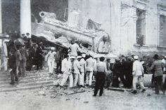 El 4 de octubre de 1912, un tren procedente de Albacete atravesó la pared de la estación destrozando el despacho de billetes y saliendo por la avenida de Salamanca. Cinco personas murieron además de contabilizarse una treintena de heridos.