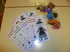 La maternelle de Laurène: Halloween Diy Halloween, Theme Halloween, Preschool Halloween, Flying Witch, Cat Crafts, 7 And 7, Activities, Education, Blog