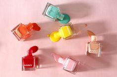 Perfect colours for the summer #douglas #anny #nailpolish #red #pink #turquoise #summer #sun #beauty