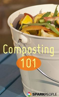 You don't even have to have a garden to take advantage of composting. Make this the year to start your eco-friendly and yard-friendly compost pile! Here's everything you need to know as a beginner. | via @SparkPeople #food #kitchen #waste #soil