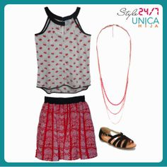 A laidback outfit need not be sloppy, it can be pretty and girly too. ;)