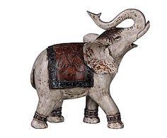 Elefante de resina Exotic