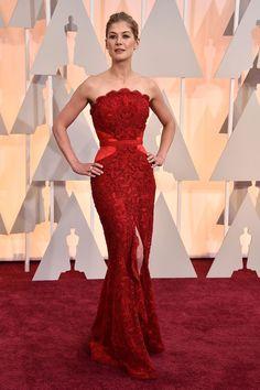 Rosamund Pike's Oscars 2015 Red Carpet Dress.