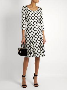 http://www.matchesfashion.com/intl/products/Dolce-&-Gabbana-Polka-dot-print-silk-blend-charmeuse-dress--1077498