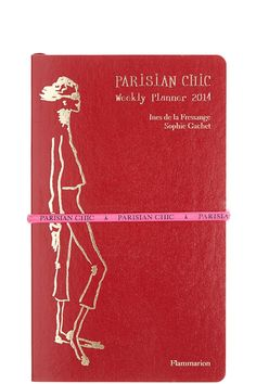 This is the must-have engagement calendar for any woman who wants to add a touch of Paris to her handbag and to stay on top of her oh-so-chic lifestyle. @Kristen Kyslinger St. Barth