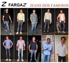 Olá! As dicas de looks hoje são para os homens! Confira o estilo de alguns atores famosos na hora de compor um look casual com jeans. Inspire-se para montar seu look do final de semana.