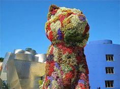 Guggenheim Museum Bilbao: Puppy de Jeff Koons