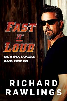 Gas Monkey Garage | Autographed Copy Fast & Loud Blood, Sweats and Beers Hardcover