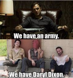 the walking dead <3  Somewhere there's a 'puny govenor' joke, lol