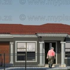 4 Bedroom House Plan – My Building Plans South Africa 5 Bedroom House Plans, Tuscan House, Building Plans, Open Plan, Master Suite, Mlb, South Africa, Floor Plans, House Design