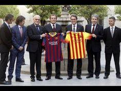 FC Barcelona | Presentación de las nuevas camisetas en la Generalitat.