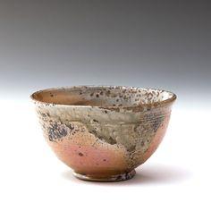 Nic Collins   Tea Bowl   Teabowl   Shino & natural ash glaze