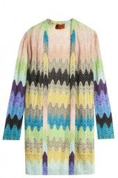 Lurex Cardigan by MISSONI. Available in-store and on Boutique1.com