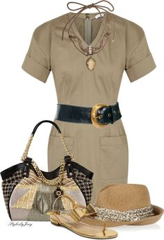 A fashion look from March 2013 featuring brown t shirt dress, yellow gold shoes and straw tote bags. Browse and shop related looks. 50 Fashion, I Love Fashion, Work Fashion, Curvy Fashion, Fashion Outfits, Womens Fashion, Fashion Design, Cool Outfits, Summer Outfits