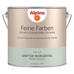 Alpina Feine Farben Sanfter Morgentau (No. 12 - Blasses Graugrün)