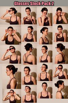 Glasses Stock Pack 2 by ~Kxhara on deviantART