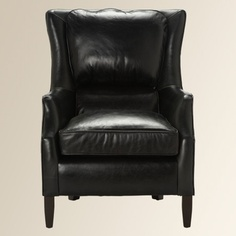 Alex Leather Chair  in Holiday 2012 from Arhaus Furniture on shop.CatalogSpree.com, my personal digital mall.
